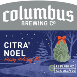 Columbus Brewing Citra Noel Holiday Ale