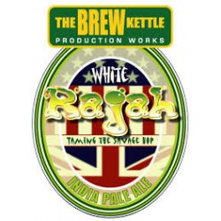 Brew Kettle White Rajah 1/6bbl Keg
