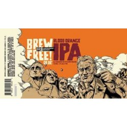 21st Amendment Blood Orange Brew Free or Die IPA! 1/6bbl Keg