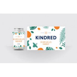 Kindred Hawaiian Shirt 1/6bbl Keg