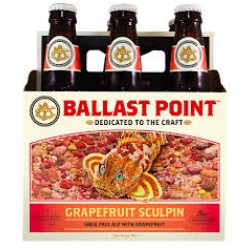 Ballast Point Grapefruit Sculpin 1/6bbl Keg