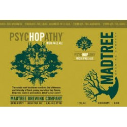 MadTree PsycHOPathy 1/6bbl Keg