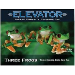 Elevator Three Frogs IPA 1/6bbl Keg
