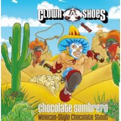 Clown Shoes Chocolate Sombrero 1/6bbl Keg