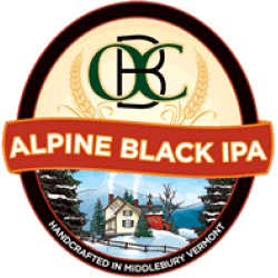 Otter Creek Alpine Black IPA 1/6bbl Keg
