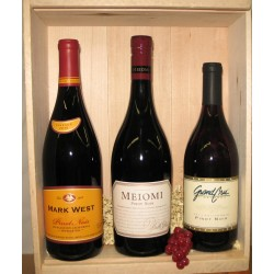 Three Bottle - California Pinot Noir Set