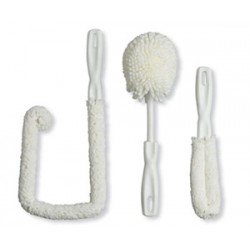 Sommelier's Washing Kit - includes 3 brushes