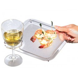 Beverage Holder Plate Set of 4