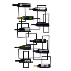 Mid Century Wine Rack Wall Mounted