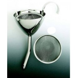 Classic Wine Funnel, Silver Plated with Screen