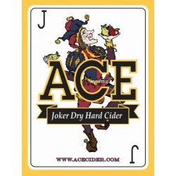 Ace Joker Dry Hard Cider 1/6bbl Keg