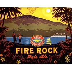 Kona Fire Rock Pale Ale 1/6bbl Keg