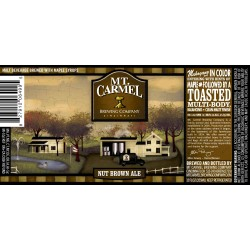 Mt. Carmel Nut Brown Ale 6pk