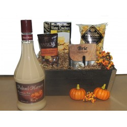 Pumpkin Passion Liqueur Basket