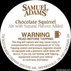 Samuel Adams Chocolate Squirrel 1/6bbl