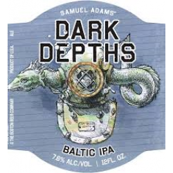Sam Adams Dark Depths Baltic IPA 1/6bbl