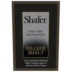 2006 Shafer Hill Side Select Cabernet