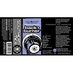 Southern Tier Oak Aged Back Burner 1/6bbl