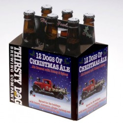 Thirsty Dog-12 Dogs of Christmas Ale-6pk