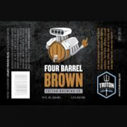 Triton Four Barrel Brown 1/6bbl