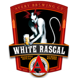 Avery White Rascal 1/6bbl Keg