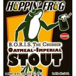 Hoppin Frog BORIS The Crusher 1/6bbl Keg