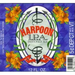 Harpoon IPA 1/6bbl Keg