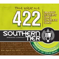 Southern Tier 422 Pale Wheat Ale 1/6bbl Keg