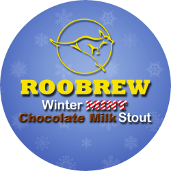 RooBrew Winter Mint Chocolate Stout 1/6bbl Keg
