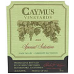 Caymus Special Selection Cabernet